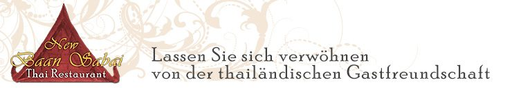 New Baan Sabai - Thai Restaurant in Bergisch Gladbach